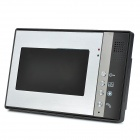"SY802M12 1-To-2 7"" TFT Rainproof Wired 3.6MM Digital Video Door Phone w/ Night Vision - Grey"