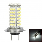 L20121225-12 H7 5W 450lm 6000~7000K 102-SMD 3528 LED White Light Car Brake / Fog / Tail Lamp