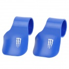 MP074 Throttle Rocker Cruise Assist Wrist Rest Accessories for Motorcycle - Blue (2 PCS)
