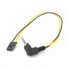 Gopro Switch Wiring for Remote Control Aircraft - Black + Yellow