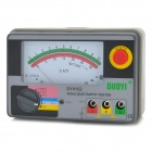 DUOYI DY4102 Analog Ground Earth Resistance Insulation Tester Meter - Grey (6 x AAA)