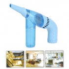 USB Power Portable Handheld Electric Vacuum Cleaner for Car / Household - Blue