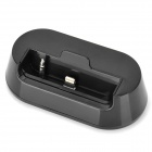 8-Pin Lightning Data / Charging Docking Station w / 3,5 mm Line Out für iPhone 5 - Black