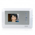 "SY353MA11 1-To-2 3.5"" Rainproof Wired 3.6MM Digital Video Door Phone w/ Night Vision - White"