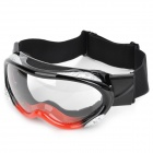 Carting T815-14 Outdoor Motorcycle Racing Cool Windproof Goggles - Black + Red