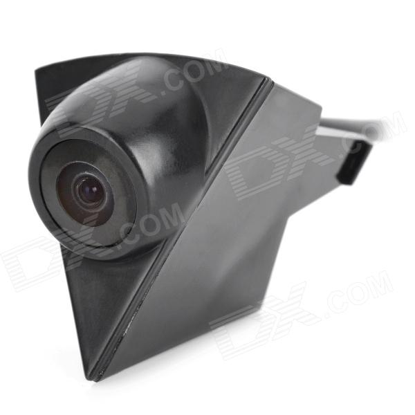 Car Logo Front View 175 Degree Angle CMOS Camera for VW - Black (DC 12V / 40cm-Cable)
