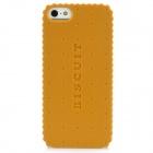 Newtons Biscuit Style Protective Plastic Case for Iphone 5 - Orange