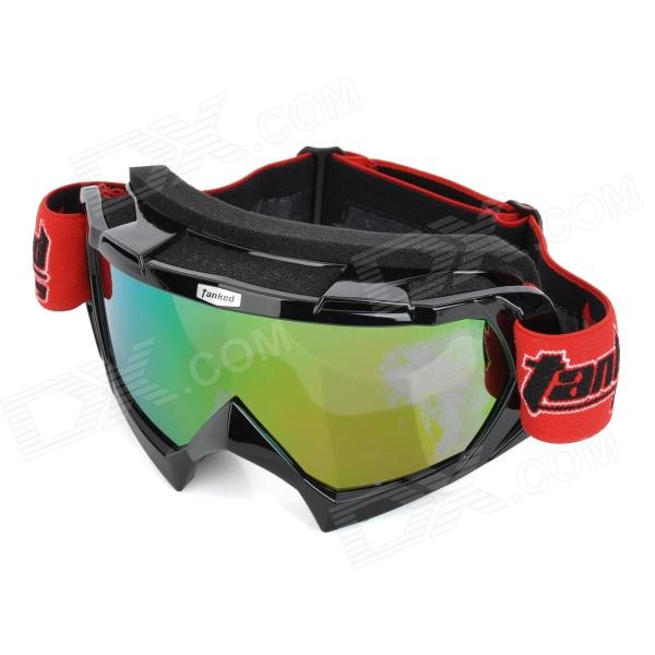Tanked 970 Outdoor Cycling UV Protection Sunglasses Goggles - Black