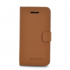 Newtons 14FASHION Protective PU Leather Case for Iphone 4 / Iphone 4S - Coffee