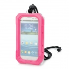 Genuine iPega Waterproof Protective Case w/ Strap for Samsung i9300 - Deep Pink