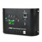 12V / 24V / 30A Solar Powered Charge Controller - Black