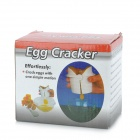 ZEA-EGG1 Kitchen RPT + ABS Egg Cracker - White