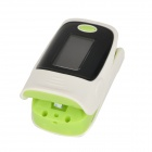 "1.1"" OLED SPO2 Fingertip Pulse Oximeter- Green + Black + White (2*AAA)"