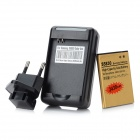 3.7V 2430mAh Battery + Charging Dock + EU Plug Adapter Set for Samsung Galaxy ACE / S5830 - Black