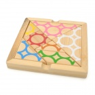 Educational DIY Bamboo Jigsaw Puzzle