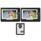 "SY810MA12 1-к-2 7 ""TFT Rainproof проводной 3.6mm Digital Video Door Phone ж / Night Vision - Black"