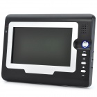 "SY810MA12 1-To-2 7"" TFT Rainproof Wired 3.6MM Digital Video Door Phone w/ Night Vision - Black"