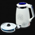 QiaoBang QBS-181J Stainless Steel Heat Preservation Automatic Electric Kettle - White (1.3L / 220V)