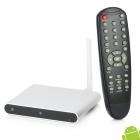 TVI7 Dual Core Android TV Box w/ 1GB RAM / 8GB ROM / 2.0MP Camera / Wi-Fi / HDMI / RJ45 - Silver