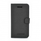 Newtons 14FASHION Protective PU Leather Case for Iphone 4 / Iphone 4S - Black