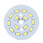 7W 55lm 5500K 14-SMD 5630 White Light LED Module - White + Yellow (DC 3.3~3.5V)