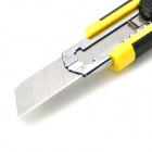 Pro'sKit DK-2039 Snap-off Blade Utility Retractable Knife with Auto Lock - Black + Yellow