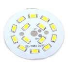 7W 55lm 14-SMD 5630 LED Warm White Light Module - White (DC 12V)