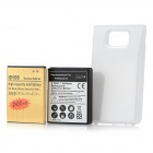Replacement 3500mAh + 2450mAh Battery + Back Cover Set for Samsung Galaxy SII i9100 - Black + Golden