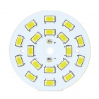 9W 55lm 18-SMD 5630 LED Warm White Light Module - White (DC 3.3~3.5V)
