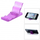 Mini Portable Stepped Stand Holder for Cellphone + GPS + More - Purple