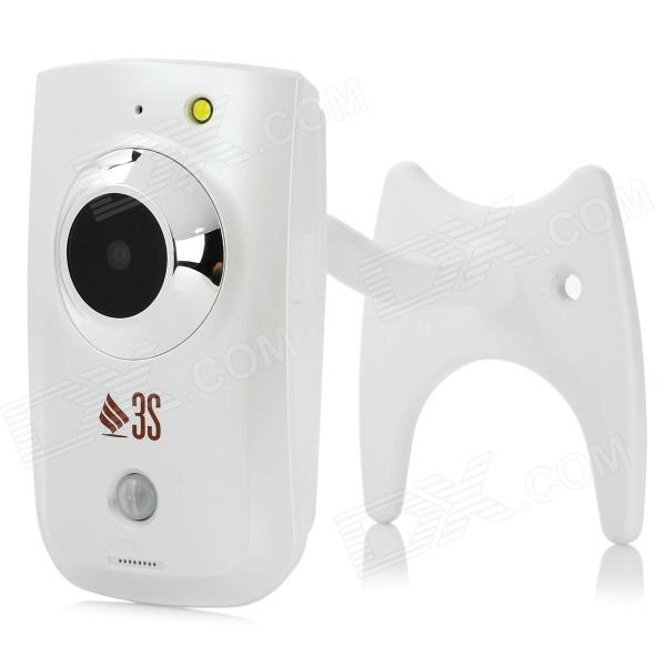 3S N8072 2.0MP HD PIR Sensor IP Camera - White thumbnail