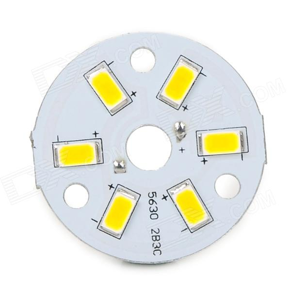 3W 55lm 3000K 6-SMD 5630 Warm White Light LED Module - White (DC 3.3~3.5V)