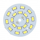 9W 55lm 5500K 18-SMD 5630 White Light LED Module - White + Yellow (DC 3.3~3.5V)