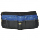 FASITE PT-N016 Water Resistant Tools Management Waistbag - Black + Blue