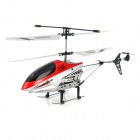 2013B 2.5-CH IR R/C Remote Controller Helicopter - Silver + Red + Black + White