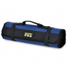 FASITE PT-N028 Folding Water Resistant Tools Management Bag - Black + Blue
