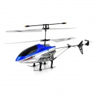 2013B Rechargeable 2.5-CH R / C Helicopter - Silver + Blue + Black + White (IR Remote / 6 x AA)