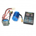 Hobbywing Combo-B1 1/10,1/12 Brushless 13T 3000KV Motor ESC w/ Programming Card - Blue + Black