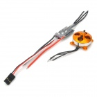 10A Electronic Motor Speed Controller w/ 1400 KV Motor Set for Fixed Wing R/C Aircraft
