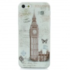 XK-cooku Protective Big Ben Plastic Case for iPhone 5 - White