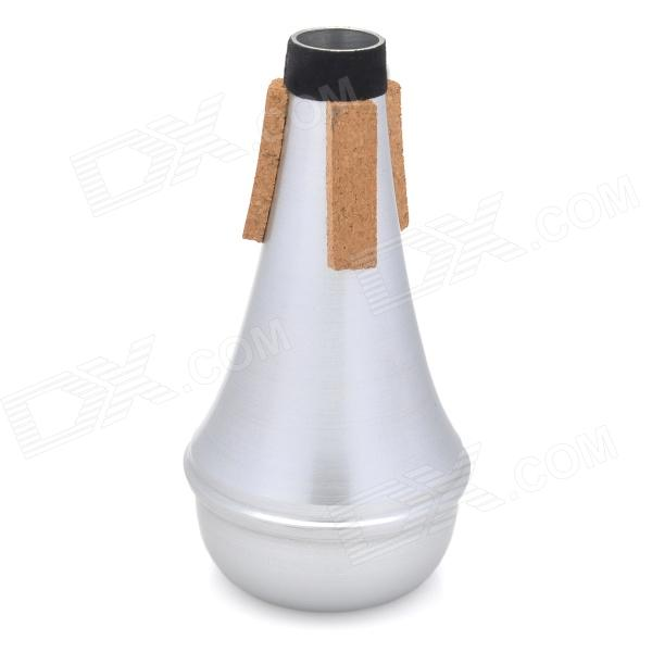 Aluminum alloy Trumpet Mute - Silver + Yellow + Black