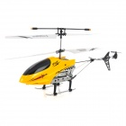 2013B Rechargeable 2.5-CH R / C Helicopter - Silver + Yellow + Black + White (IR Remote / 6 x AA)