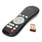 Everplus 003 2.4GHz Air Mouse Wireless IR Remote Controller w USB Receiver - Black (2 x AAA)