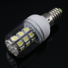 Daiwl E14 5.5W 6500K 450lm 27-SMD 5050W LED White Decoration Lamp w/ Waterproof Cover (110V)