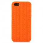 Protective Silicone Back Case for Iphone 5 - Orange