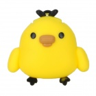 Cute Chicken Shape High-Speed USB 2.0 Flash Drive Disk - Yellow + Black (4GB)