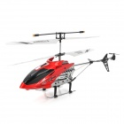 Rechargeable 250mAh 2.5-CH IR R/C Helicopter w/ Remote Controller + Propeller - Silver + Red