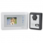"SY353MA11 3.5"" TFT LCD Color Video Door Phone w/ IR Night Vision - White"