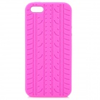 Protective Silicone Back Case for Iphone 5 - Deep Pink