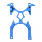 Aluminum Alloy Helicopter Remote Controller Stand - Blue